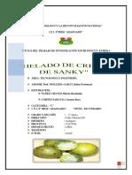 Monografia de Helados