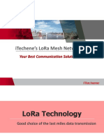 Techen Lora Mesh Solution