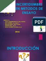 INCERTIDUMBRE M DE ENSAYO.pptx