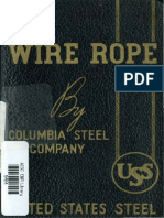 Wire Rope Catalog of Sizes Grades Constructions Price Lists Data Tables and Information on the Proper Use of Wire Rope 1940 (1)