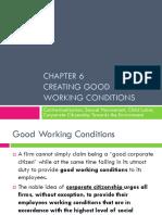 CSR6 Good Working Conditions