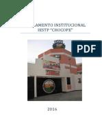 Reglamento Interno IESTP Chocope 2016