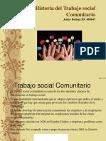 Historia del trabajo social comunitario.ppt