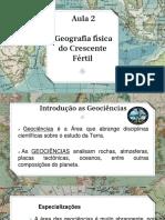 Aula de Geografia 2