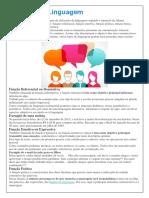 Funções Da Linguagem - Materia Para Estudo Da Prova 1L e 1M