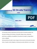 Galaxy S5 on-site Training