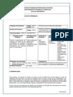 1. Gfpi-f-019 Guia de Aprendizaje No. 1 Ejecutar Planes de Mercadeo