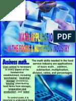 81-Math-Applications.ppt
