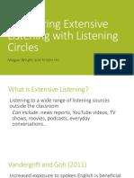 Extensive Listening idea TESOL 2019