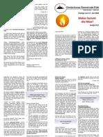 Predigtskript 2008-07-27 Woher kommt die Hitze