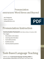 Pronunciation ppt from TESOL 2019