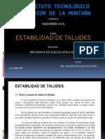4 Estabilidad Taludes I