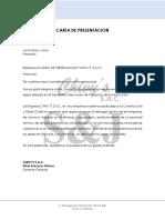 Carta Present. Chivys