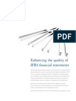 10 Easy Ways to Improve the Quality of IFRS Financial Statements