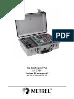 MI 3394 CE MultitesterXA Ang