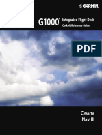 G1000 CessnaNavIII CockpitReferenceGuide SystemSoftwareVersion0563.00orlater