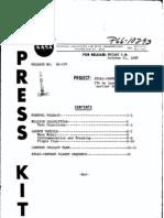 Atlas Centaur AC-9 Press Kit