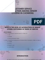 2CUSTOMER SERVICE SATISFACTION AMONG SENIOR CITIZENS IN CHOWKING.pptx