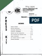 Atmosphere Explorer Satellite Press Kit