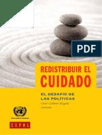 Calderon Magaña C. - Redistribuir El Cuidado, El Desafio de Las Politicas Publicas