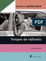Tempos de Reflexao - de 1954 a 1989 - Nadine Gordimer