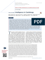 Artificial Intelligence in Cardiology