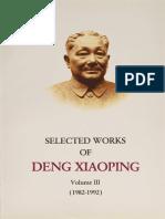 Xiaoping Deng - Selected Works Of Deng Xiaoping, (1982-1992), vol. 3.pdf
