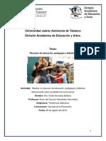 EDUCACIÓN, PEDAGOGÍA Y DIDÁCTICA.