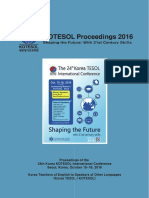 COTESOL PROCEEDING 2015