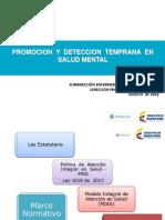 Minsalud. Promoción de La Salud