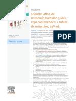 Ficha Sobotta 3 Vols