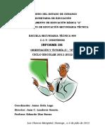 Informe OT2012