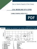 Seismic Analysis of CFRD