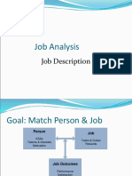 Job Analysis Basics