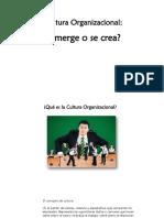 Clase 5 Cultura y Clima Organizacional
