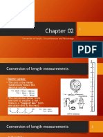 Chapter 02 - Conversion of Length, Circumferences and Percentage