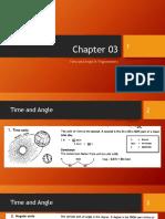 Chapter 03 - Time and Angle & Trigonometry