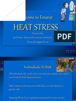 Heat Stress Training AUGUST 2019