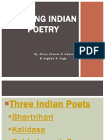 Reading Indian Poetry