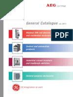 General Catalogue AEG English 2011 680880