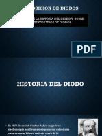 PRESENTACION DE DIODOS