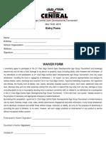 2nd Developmental Tournament Invitation Entry Waiver Form (1)