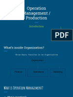 Operation Management _ Production