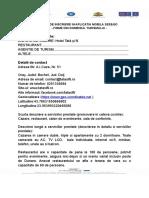 Formular de Inscriere in Aplicatia Mobila See&Go