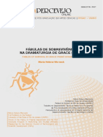 FÁBULAS DE SOBREVIVÊNCIA NA DRAMATURGIA DE GRACE PASSÔ