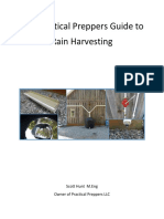 The Practical Preppers Guide to Rain Harvesting