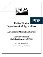 Dairy Production Stabilization Act of 1983