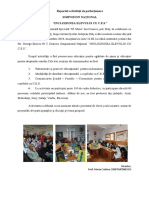 Raport simpozion 2018