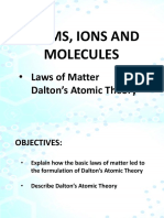 Laws of Matter