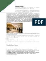 Características Del Recibidor o Lobby